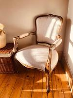 French Antique Chairs / French Salon Armchairs / Pair of Louis XV Chairs / Fauteuils (10 of 10)