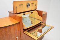 Art Deco Burr Walnut Cocktail Cabinet / Sideboard by Epstein (8 of 12)