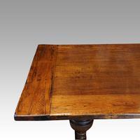 Edwardian Oak Refectory Table (4 of 10)