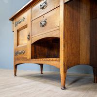 Arts & Crafts Mirror Backed Sideboard (11 of 14)