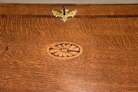 George III Oak Bureau with Fitted Interior (5 of 8)