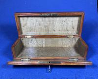 Victorian French Tulipwood Glove Box (4 of 15)