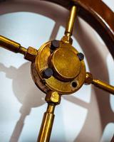 Brass & Oak Yacht Wheel (4 of 6)