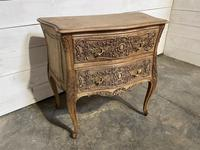Stylish French Bleached Oak Commode Chest (4 of 20)