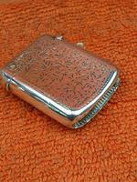 Antique Sterling Silver Hallmarked Vesta Case 1910, Samuel M Levi (4 of 9)