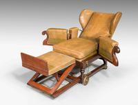 19th Century Invalids' Chair, Stamped J. Ward (2 of 8)
