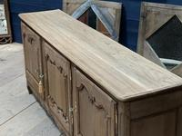 French Bleached Oak Enfilade or Sideboard (6 of 11)