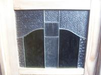 Original Arts & Crafts Antique Pine 2 Door Knockdown Wardrobe to wax / paint (5 of 11)