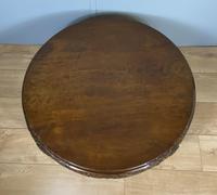Mahogany Coffee Table - Circular (5 of 6)