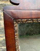 Antique Mahogany Cheval Mirror (9 of 18)