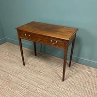 Fine Georgian Mahogany Antique Side Table (5 of 5)
