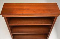 Antique  Victorian Walnut Open Bookcase (8 of 11)