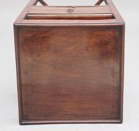 19th Century Regency Mahogany Bedside Table (9 of 9)