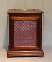 Mahogany Four Glass Ting Tang Mantel Clock (6 of 9)