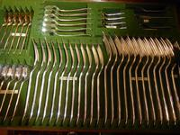 Scottish 12 Place Setting Canteen of Cutlery (7 of 10)