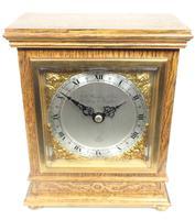 Perfect Vintage Mantel Clock Bracket Clock by Elliott of London Retailed by G H Pressley & Sons (6 of 8)
