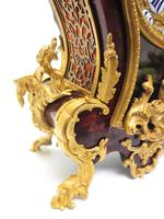 Outstanding Martinto Paris French Boulle Mantle Clock Ormolu Dragons Chinese Rider (5 of 10)