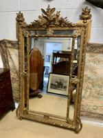Large 19th Century French Gilt Mirror (2 of 8)