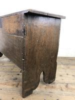 Early 18th Century Six Plank Oak Coffer (11 of 20)