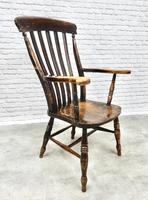 C19th Lathback Windsor Armchair (5 of 5)