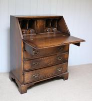 Vintage Oak Bureau (4 of 10)