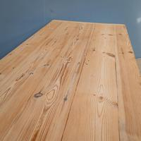 """""""h"""" Stretcher Pine Kitchen Table (7 of 8)"""