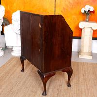 Edwardian Mahogany Bureau Writing Desk (9 of 9)