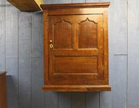 18th Century Oak Hanging Mural Cupboard. North Wales c.1760 (2 of 9)