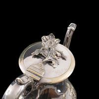 Antique Decorative Tea Urn, English, Silver Plate, Teapot, Edwardian c 1910 (10 of 12)