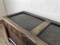 Early 19th Century Antique Oak Coffer Blanket Box (13 of 19)