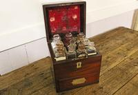 Apothecary Case. Early 19thC. Doctors Medical Chemical Chest. (6 of 8)