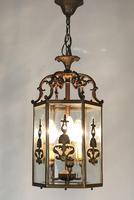 Antique French Gilt Bronze Lantern (4 of 13)