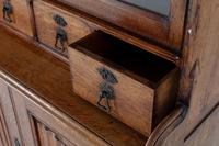 19th Century Solid Oak Bookcase (9 of 11)