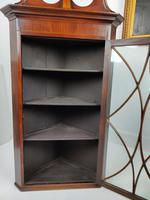 Pair of Glazed Corner Cupboards (3 of 7)