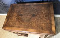 George III Style Burr Walnut Desk c.1920 (20 of 20)