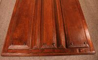 Coffee Table Made With An Old 17th Century Spanish Door In Chestnut (3 of 9)