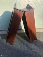 Pair of Antique Mahogany Shop Display Cabinets (7 of 8)