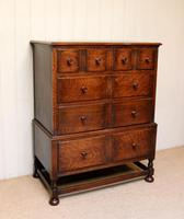 Solid Oak Chest of Drawers (7 of 10)