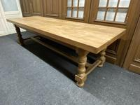 Rare Huge Oak French Farmhouse Dining Table (5 of 18)