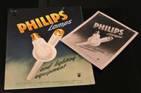 Philips TV - Original Advertising Artwork c.1950 (5 of 11)