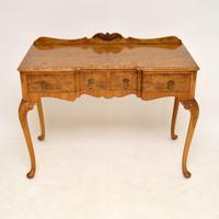 Antique Burr Walnut Server Side Table (2 of 11)