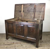 Antique 18th Century Oak Coffer (15 of 16)