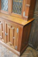 Arts & Crafts Howard & Sons Oak Bookcase (10 of 13)