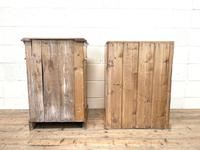 Two Similar Antique Pine Bedside Cupboards (10 of 10)