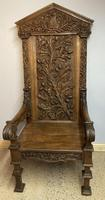 Gothic Revival Throne (18 of 20)