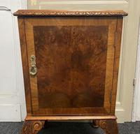 Pair of Burr Walnut Queen Anne Bedside Cupboards (11 of 15)