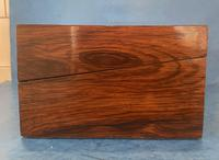 Victorian Inlaid Parquetry Rosewood Box (9 of 12)