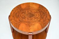 1920's Art Deco Period Walnut Coffee Table (4 of 7)