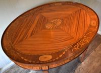 Dutch Neoclassical Satinwood Centre Table (7 of 13)