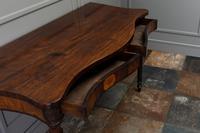 George III Mahogany Serpentine Side / Serving Table (9 of 10)